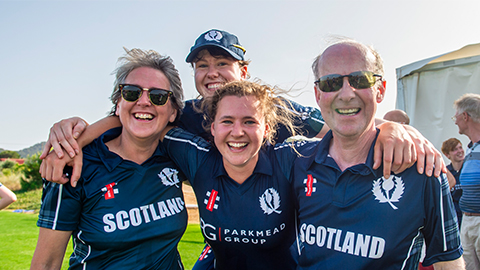 Lightning player and Scotland captain Kathryn Bryce has been selected to join FairBreak Global. Photo credit: Get Ready Images.