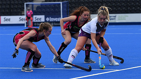 Four students from Loughborough University are competing in the U21s Hockey European Championships, taking place in Valencia.