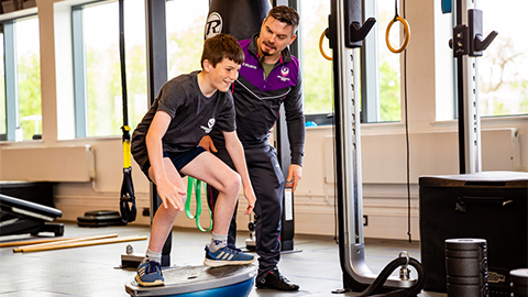 Loughborough University has launched a new fitness initiative aimed at children.