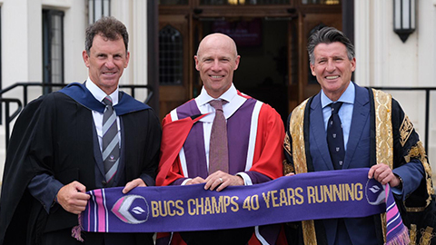 Danny Kerry received an honorary degree from Loughborough University.