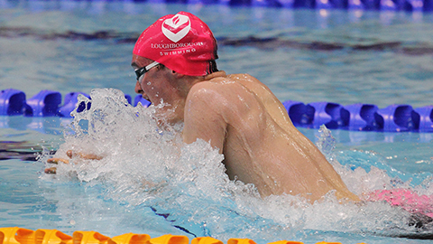 Loughborough swimmer James Wilby secured his first global medal at the World Championships in Gwangju, South Korea.