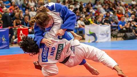 Second-year Human Biology student, Annie Boby, has won silver in both Junior and Senior categories at the Commonwealth Judo Championships in Walsall.