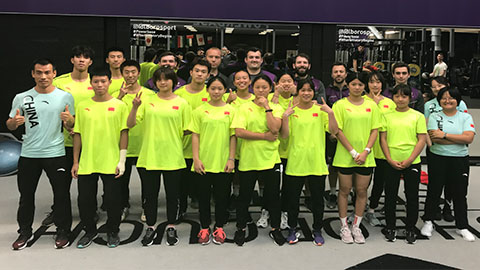 The development squad from Chinese Snowsport has spent the last 19 days on campus, learning from Loughborough's expert performance teams.