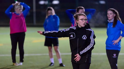 Issy Martin has been named as Loughborough University's new Women's Head Coach.