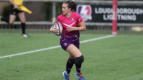 Loughborough Lightning centre Emily Scarratt has been named World Rugby Women's Player of the Year 2019.