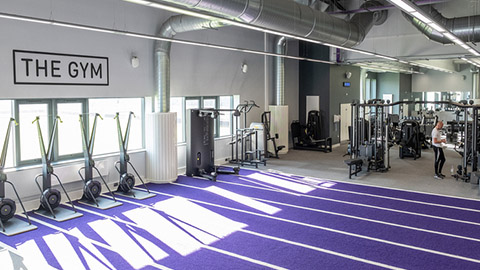 Loughborough University's Holywell Fitness Centre has officially reopened its doors following a £1m redevelopment.