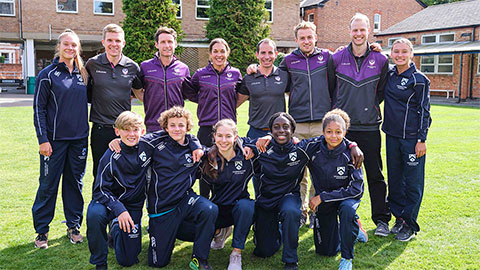 The Loughborough University National Tennis Academy has officially opened its doors to the next generation of talented British tennis players.