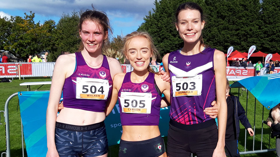 Loughborough endurance runners in Leeds