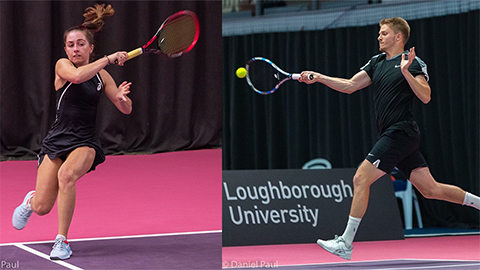 Loughborough Tennis is delighted to announce that both Ella Taylor and George Houghton have been called up to the Great Britain squad for the upcoming BNP Paribas Master'U event in France.