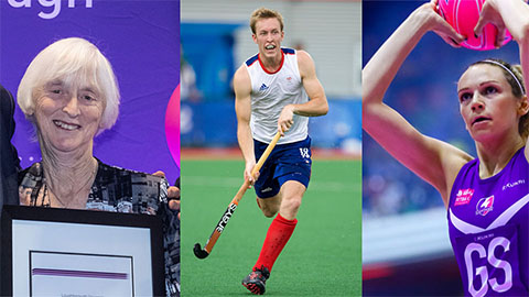 A trio of Loughborough sporting stars have been named in the Queen's New Year Honours List.