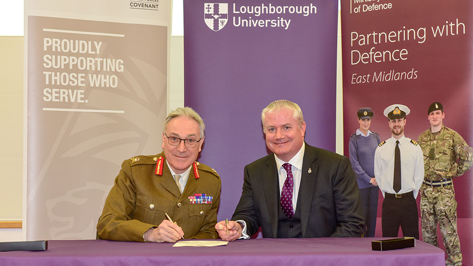 Armed Forces Covenant re-signing