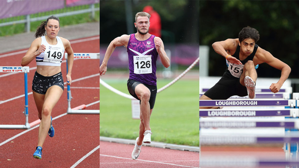 The annual Inter Varsity Indoor competition has been dominated by Loughborough athletes.