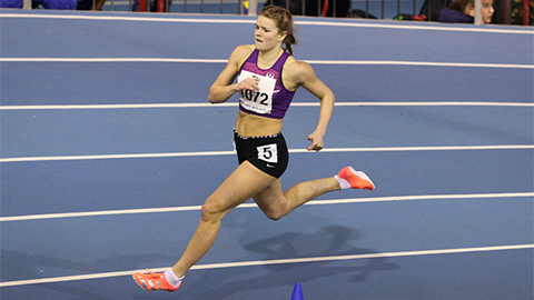 Zoe Pollock ran at the championships in Glasgow