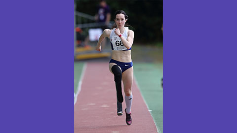 stef reid is one of several Loughborough-based athletes who have been offered membership to the Paralympic World Class Programme (WCP) in 2020.