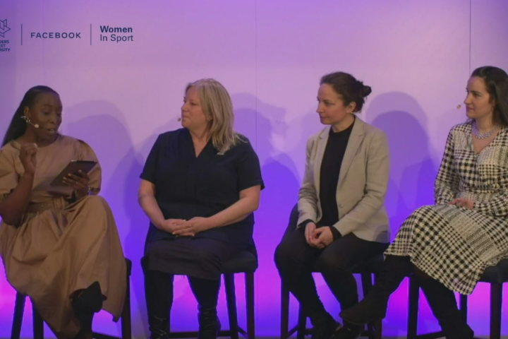 Loughborough academic speaks at Leaders Women in Sport event