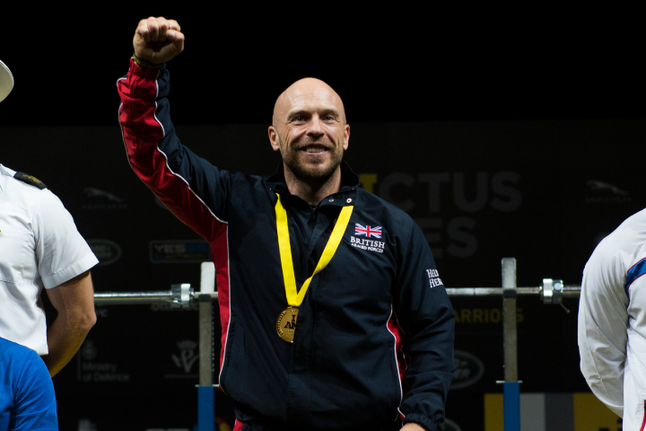 Micky Yule gold in the 2020 Road to Tokyo Para Powerlifting World Cup.