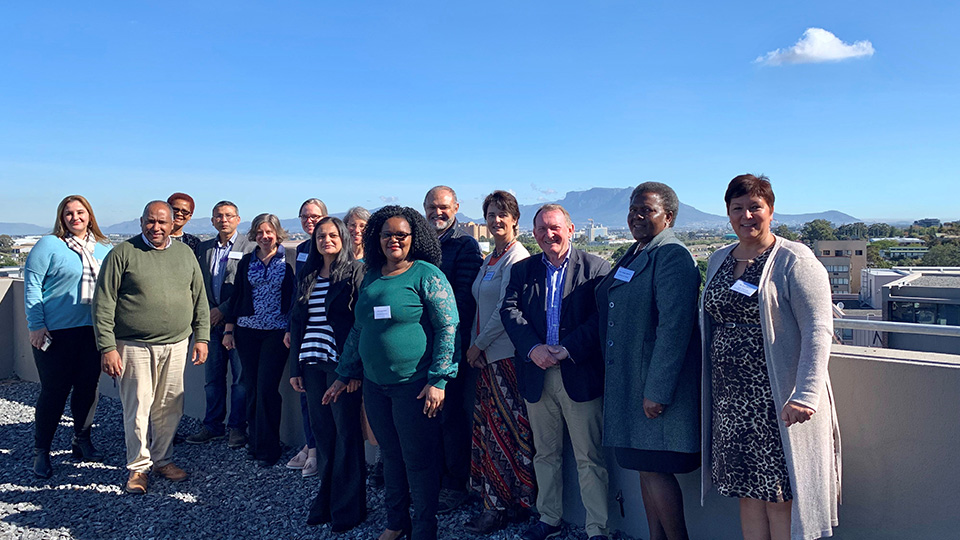Photo of the collaborative staff partners in Cape Town