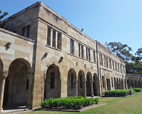 photo of the conference building in Brisbane, Australia