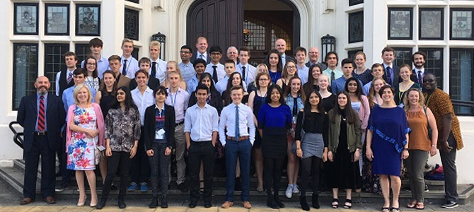 the Biomaterials Summer School group