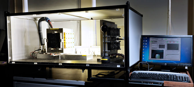 The remote photovoltaic laboratory in action