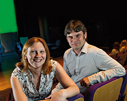 Dr Catherine Rees and Dr Daniel Sage
