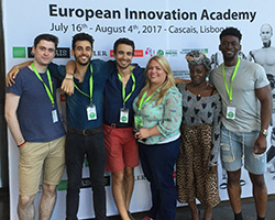 LU students at EIA in Portugal July/August 2017