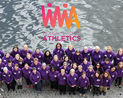 WIWA logo on top of photo of WIWA members