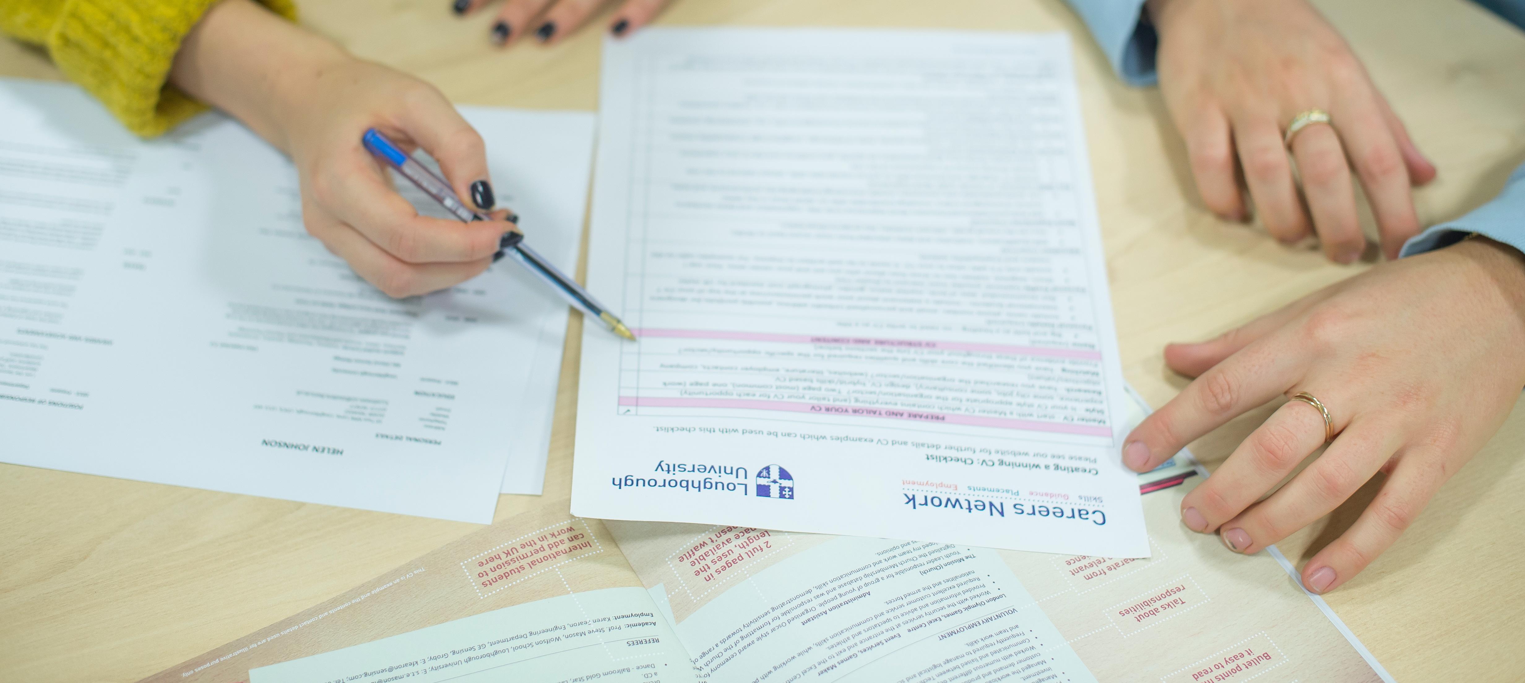 Make applications | Careers Network | Loughborough University