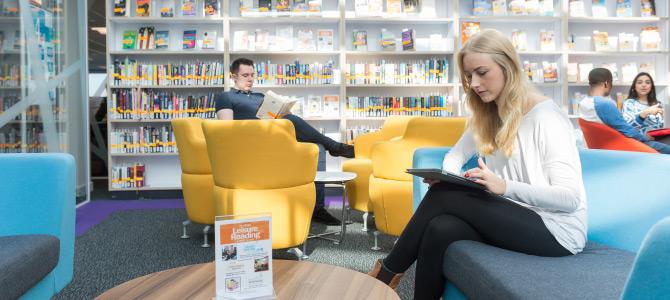 Loughborough Library Book A Room