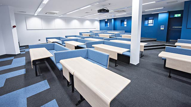 West Park Teaching Hub lecture theatre
