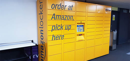 A picture of Herbert Manzoni's Amazon Lockers