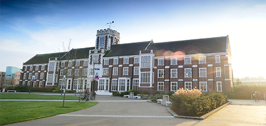 Pictured is the Loughborough University Hazlerigg Building.