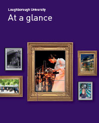 Front cover of March version of At a glance publication