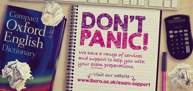 Exam support banner