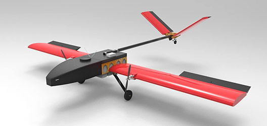 design for Team Newton's UAS for the competition