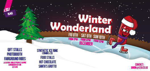 LSU Winter Wonderland poster