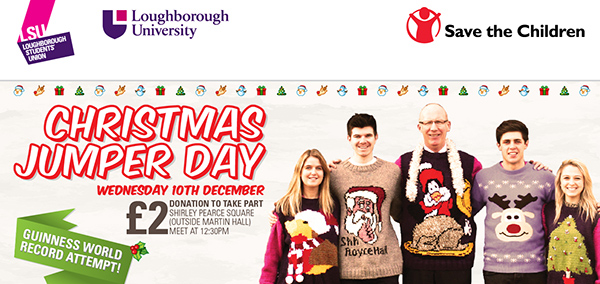 Christmas jumper poster