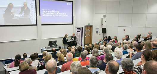 photo of Archbishop event at Loughborough University