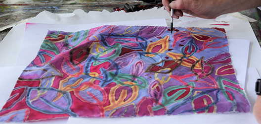 photo from previous batik workshop