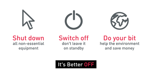 graphic to promote it's better off campaign