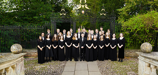 Pictured is the Choir of Clare College, Cambridge.