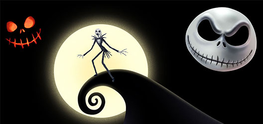 image of the film 'The Nightmare Before Christmas'