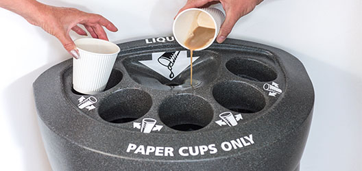Recycling cups
