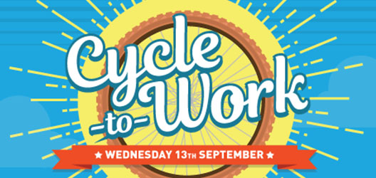Cycle to work day 2017 graphic