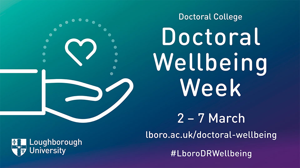 Asset for Doctoral Researcher Wellbeing Week