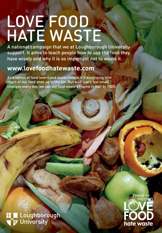 Pictured is the Sustainability Food Waste poster.