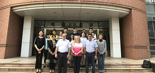 Dr Ragsdell at the School of Information Management at Sun Yat Sen University, China