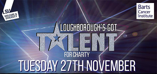 graphic for LSU's Loughborough's Got Talent event