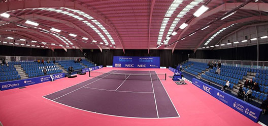 A photo of Loughborough University's Tennis Centre