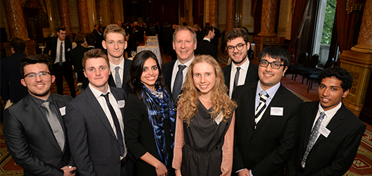 Photo of the student winners of the Mentor30Engineers competition
